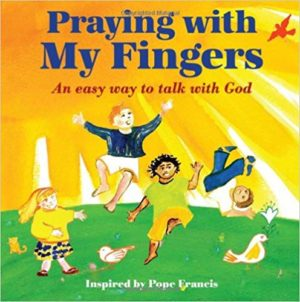 Praying with My Fingers children's book cover.