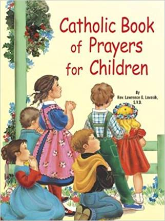 Catholic Book of Prayers for Children book cover.