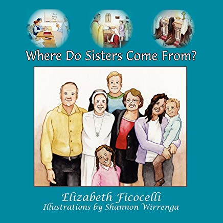 Where do sisters come from Children's book cover.