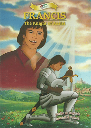 DVD cover for francis the knight of assisi.