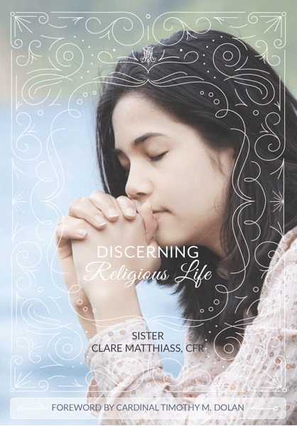 Book cover for Discerning Religious Life.