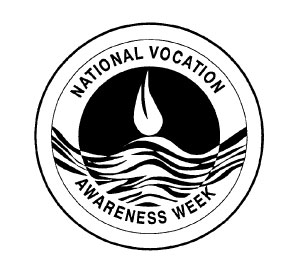 National vocation awareness week logo.
