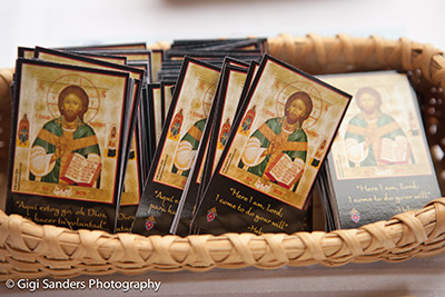 Prayer Cards for Vocations Display.