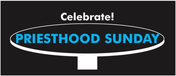 priesthood sunday logo.
