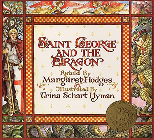 book cover of saint george and the dragon
