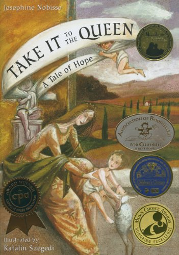 book cover of take it to the queen a tale of hope.