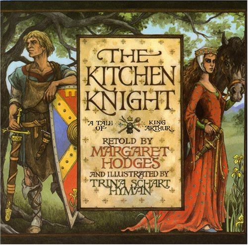 book cover of the kitchen knight