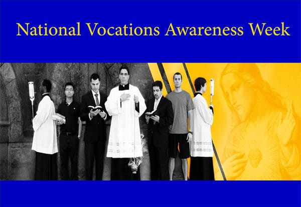 vocations awareness week banner.