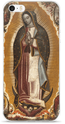Our lady of guadalupe iphone case.