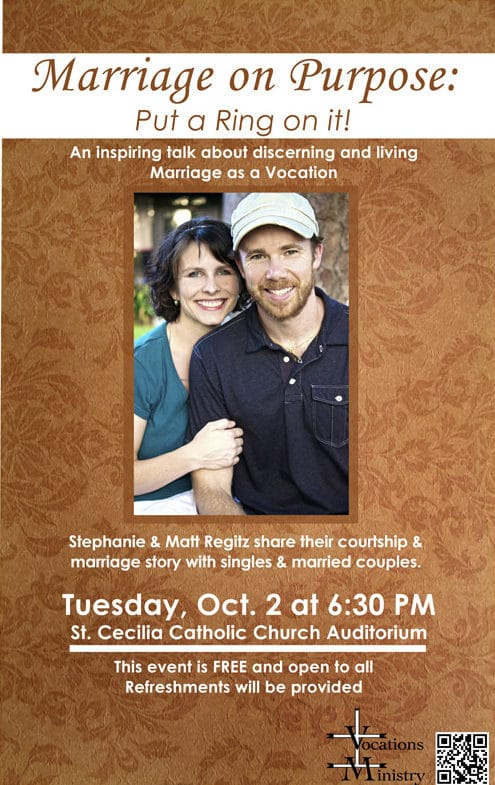 marriage on purpose flyer.