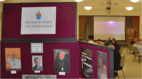 display board for vocations.
