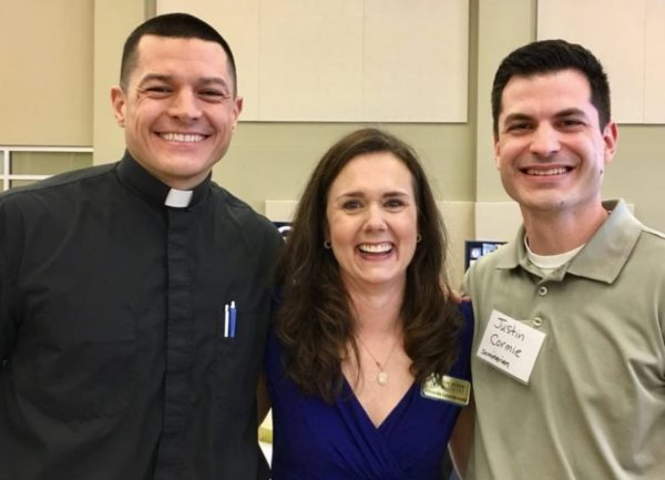 Sharing about Vocation Ministry in Galveston-Houston!