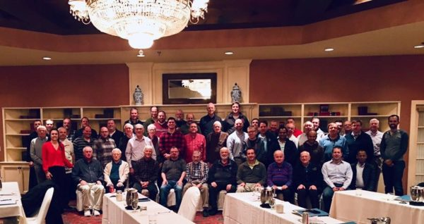 Attendees at Manchester New Hampshire Priests & Deacons Workshop.