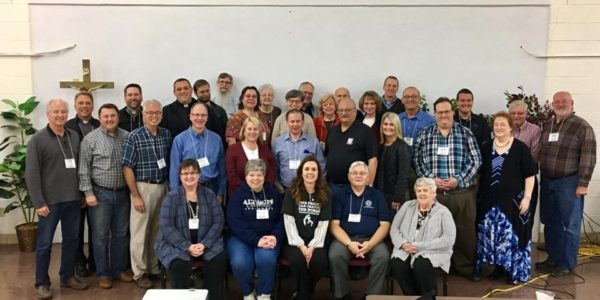 Workshop attendees in Belleville Illinois.