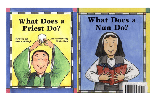 Book Cover for What Does a Priest Do / What Does a Nun Do?