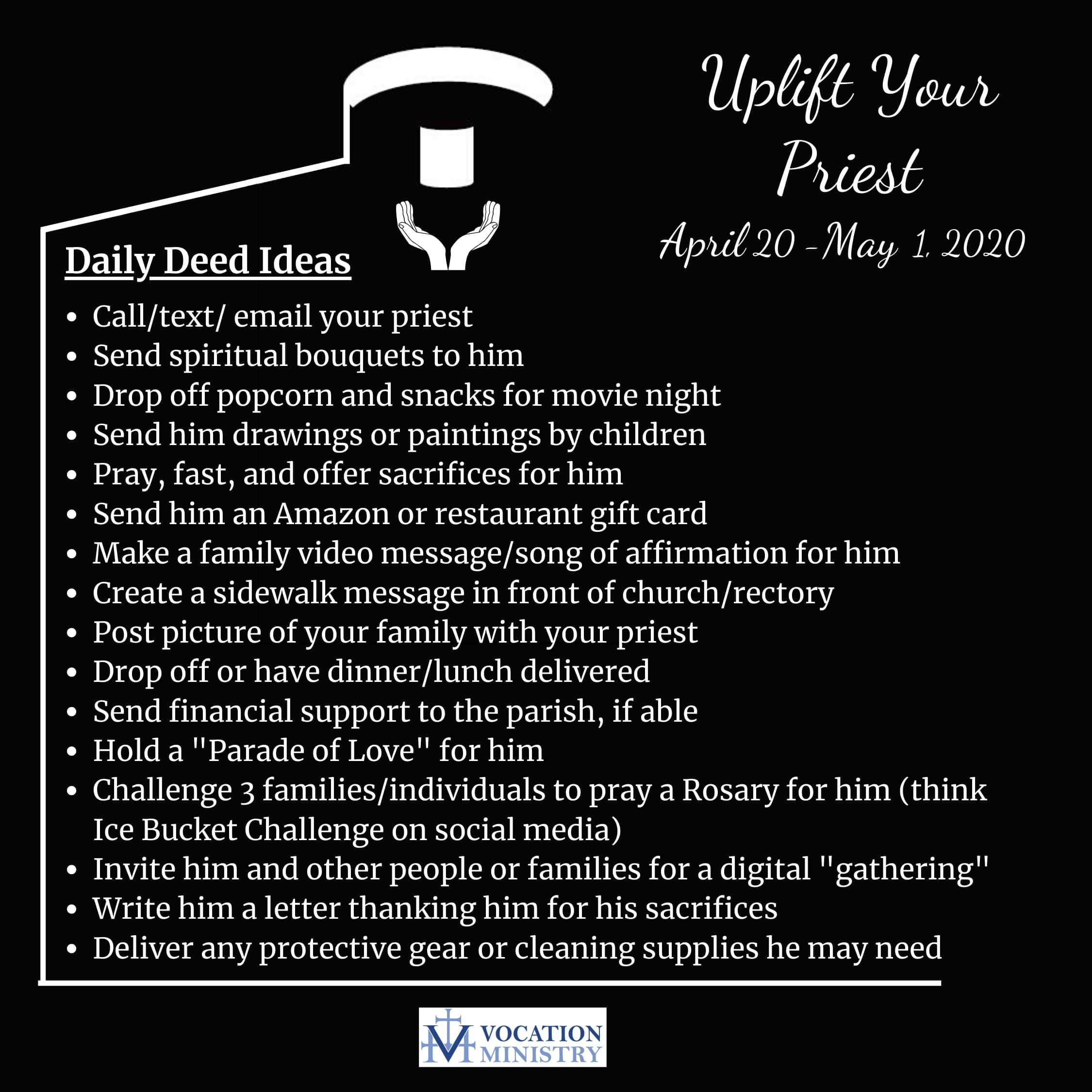 Daily Deed Ideas