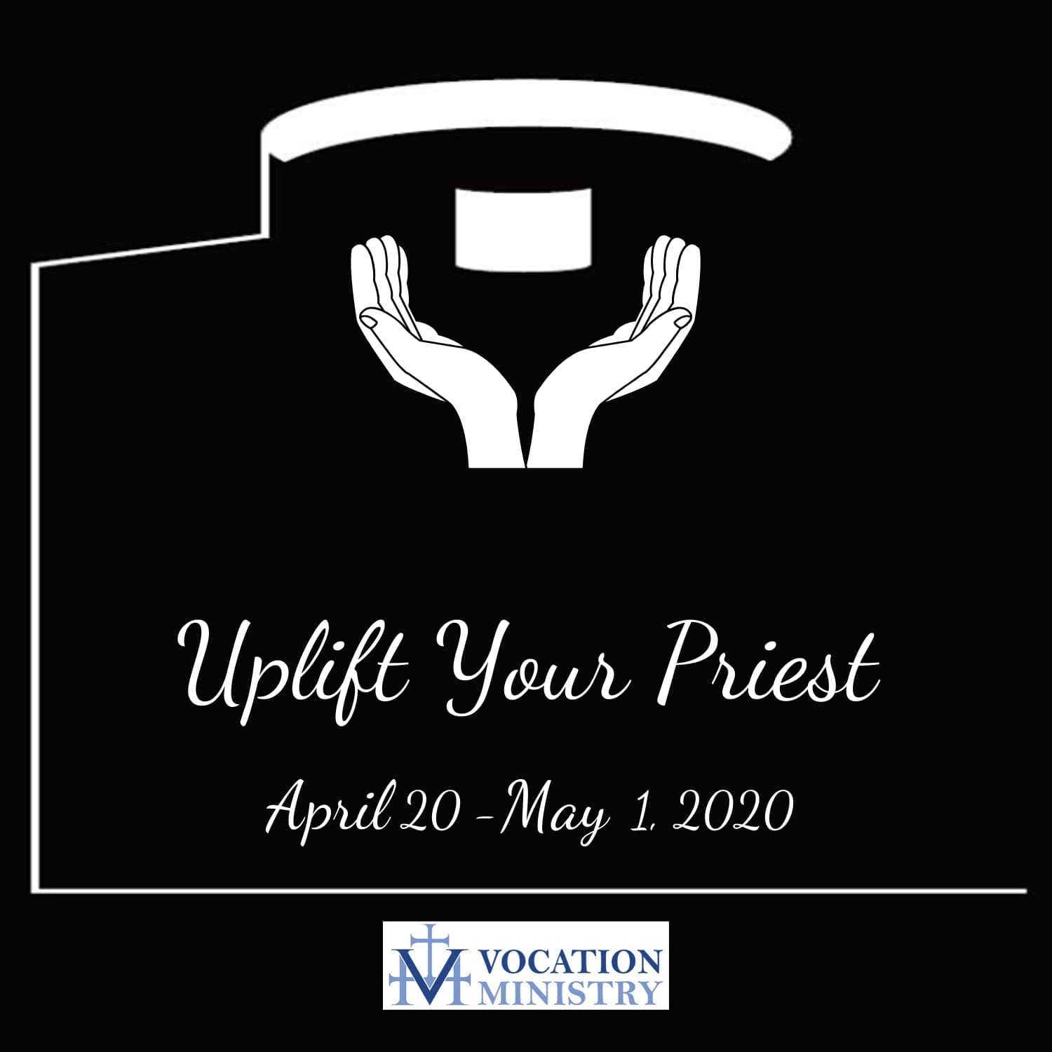 Uplift your priest logo